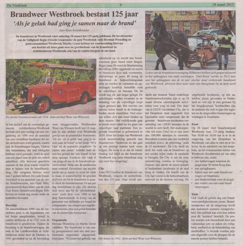 De Vierklank Westbroek 2015 IncidentenCity